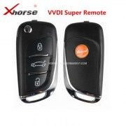 VD-04 DS Style 3 Buttons VVDI Supe Remote Car Key For Vvdi Tool