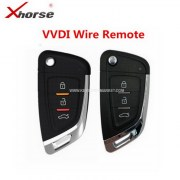 VD-09 Universal Wire 3 Button Remotes Key English Version