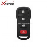 VD-14 Universal Wired Remote Key 3+1-4 Buttons For Nissan