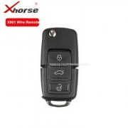 X001 Wire Remote Key For B5 Type 3 Buttons Universal Remo